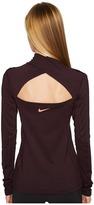 Nike Pro Hyperwarm 1/2 Zip Training Top Women's Long Sleeve Pullover