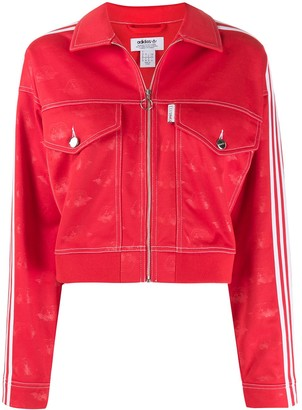 Fiorucci x Adidas All Over Angels Crop jacket