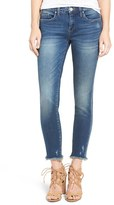 Blank NYC BLANKNYC Frayed Hem Skinny Jeans (Factory Girl)