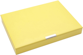 Wolf Large Stackable Tray with Lid, Yellow