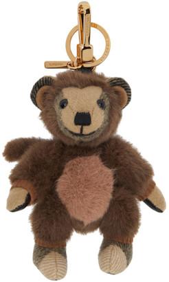 Burberry Beige Monkey Costume Thomas Keychain