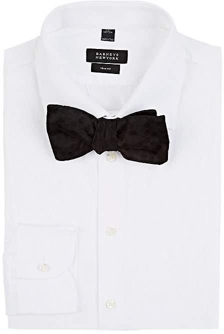 Alexander McQueen Men's Skull-Dots Silk Bow Tie