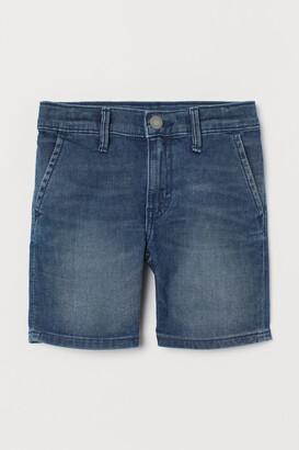 H&M Slim Fit Denim Shorts