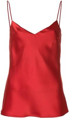 Galvan V-neck camisole