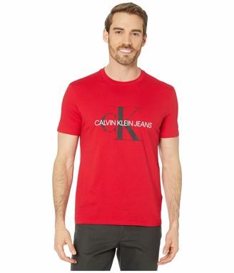 Calvin Klein Men's Short Sleeve Monogram Logo T-Shirt