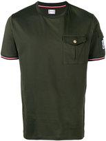 Moncler Gamme Bleu chest pocket T-shirt - men - Cotton - L