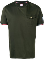 Moncler Gamme Bleu chest pocket T-shirt - men - Cotton - XS
