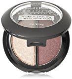 L'Oreal HiP Studio Secrets Professional Metallic Eye Shadow Duos, Electrified, 0.08 Ounces