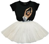 Rock Your Baby Toddler Girl's Dance Rehearsal Circus Dress