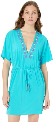 CoCo Reef Women's V-Neck Caftan Cover Up