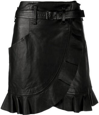 Etoile Isabel Marant Qing wrap-style skirt