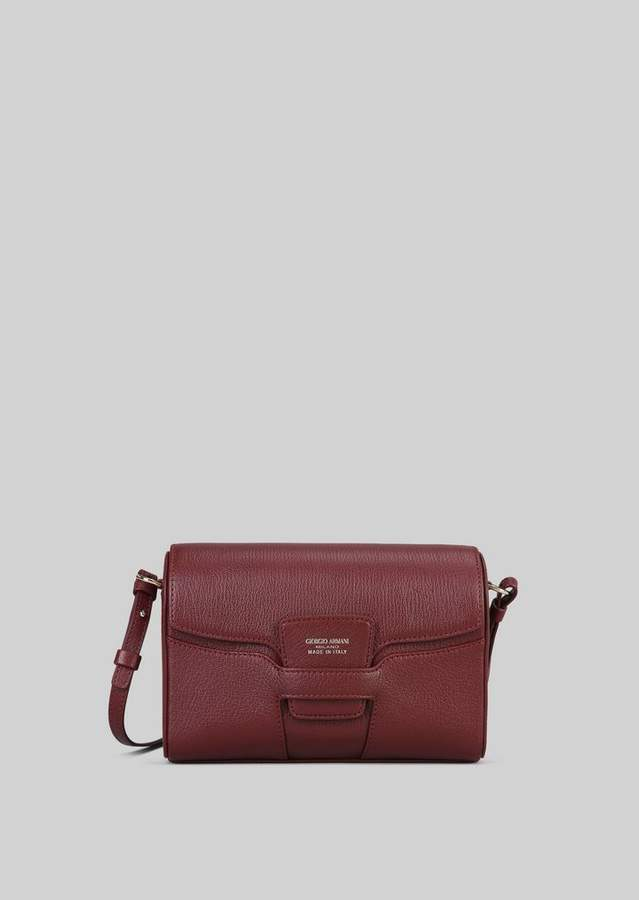 Giorgio Armani Leather Cross-Body Bag