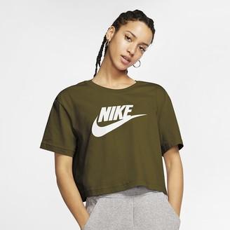 Nike Women's Cropped T-Shirt Sportswear Essential