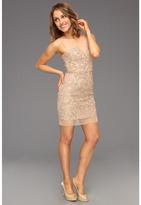 BCBGMAXAZRIA Abigail Evening Dress (Champagne) - Apparel
