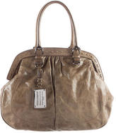 Dolce & Gabbana Leather Frame Tote