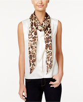 Vince Camuto Leopard Life Oblong Scarf
