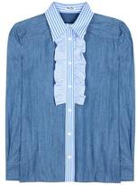 Miu Miu Denim Shirt