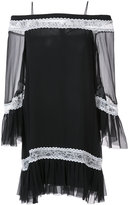 Alice + Olivia Alice+Olivia - off shoulder tunic dress - women - Silk - 0