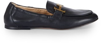 Tod's Double T Leather Loafers