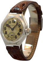 One Kings Lane Vintage Oyster By Rolex Chrome Watch, C. 1920