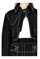 Alexander Wang Cutaway Trench With Contrast Stitching