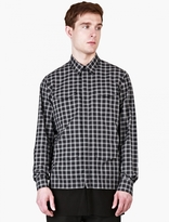 Casely-Hayford Checked Stanley Contrast-Hem Overshirt
