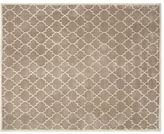 Pottery Barn Jali Geo Tufted Rug - Taupe