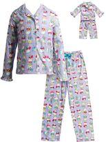 Dollie & Me Girls 4-14 Polar Bear Pajama Set