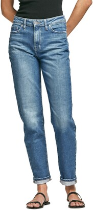 Outland Denim Abigail High Waist Straight Leg Jeans