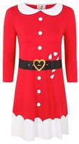 George Christmas Mrs Santa Dress