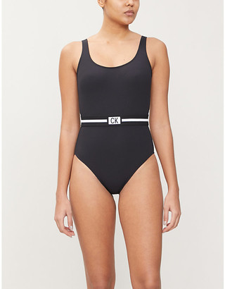 Calvin Klein Core belted swimsuit