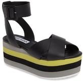 Steve Madden Women's Macer Cuffed Platform Sandal