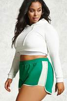 Forever 21 Plus Size Piped Shorts