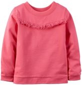 Carter's Baby Girl Fringe Long Sleeve Top