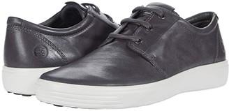 Ecco Soft 7 Plain Toe Sneaker (Cognac) Men's Shoes