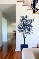 Blik Olive Tree Wall Stickers in Deep Sea Blue and Genetian