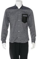 Viktor & Rolf Glen Plaid Pocket Shirt