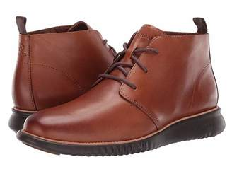 Cole Haan 2.Zerogrand Chukka (British Tan Leather/Java) Men's Lace-up Boots