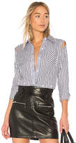 Milly Stripe Fractured Shirt