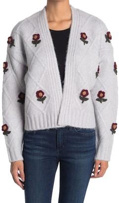 Cliche Knitted Flower Cardigan