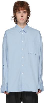 Ader Error Blue Cosmos Shirt