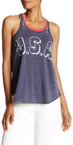 Chaser Vintage Graphic Print Swing Tank