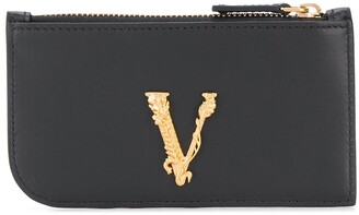 Versace Logo Plaque Purse
