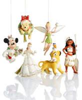 Lenox Christmas Disney Ornament Collection