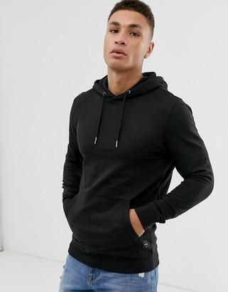 ONLY & SONS hoodie in black