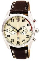 Ferrari Men's 0830174 D 50 Analog Display Quartz Brown Watch