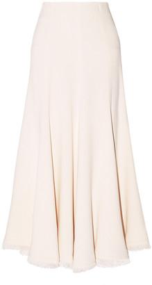 Gabriela Hearst Eliza Crepe Maxi Skirt