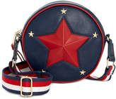 Tommy Hilfiger Christa Debossed Star Tambourine Small Crossbody