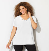 Avenue Grommet Dolman Top
