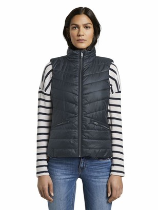 Tom Tailor Women's Ultra Light Weight Quilted Jacket